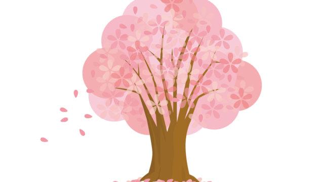 桜の木のイラスト